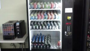 Vending Machine Dixie narco Dn9951 Cans And Bottle Trays Installed
