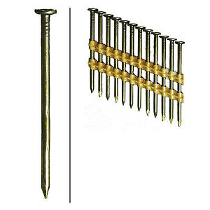 Framing Nails Plastic Strip Smooth Brite 2 3 8 in X 113 5 000 ct