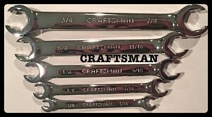 Craftsman Standard Flare Nut Wrench Set