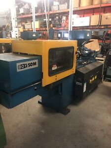 2 Injection Molding Machines Boy 50m 1984 Good Shape With Low Hours
