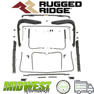 Rugged Ridge Factory Soft Top Hardware Fits 1997 2006 Jeep Wrangler Tj