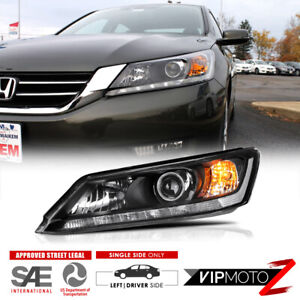 Driver Lh Side Factory Style Replacement Headlight For 13 15 Honda Accord Sedan