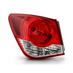 For 11 15 Chevy Cruze Left Driver Side Outer Corner Signal Tail Light Brake Lamp