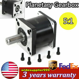 Extruder Gear Stepper Motor Nema23 57mm Planetary Gearbox Reducer 5 1 Cnc Usa