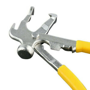 Tire Balancer Changer Accessories Forged Wheel Weight Hammer Pliers Combo Tool