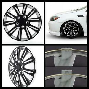 Universal Fit Auto Car Hubcaps Toyota Camry Style Vehicle Tire Cover 16 Black