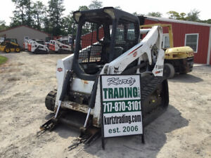 2014 Bobcat T650 Compact Track Skid Steer Loader Needs Work