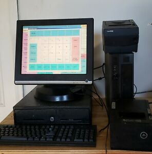 Used Restaurant Pos System With Chinese And English Menu