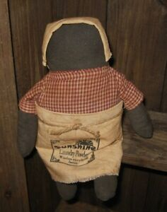 Mammy Doll Primitive Home French Country Farmhouse Cupboard Shelf Decor New