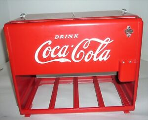 BEAUTIFUL VINTAGE 1939 COCA-COLA KAY DISPLAY SALESMAN SAMPLE COOLER