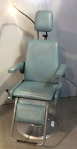 Apex Smr 25100 Exam Chair W flexible Solarite Lamp Medical Furniture
