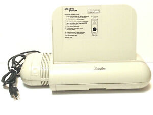 Swingline Model 525 3 Three Hole Electric Paper Punch With Paper Guide
