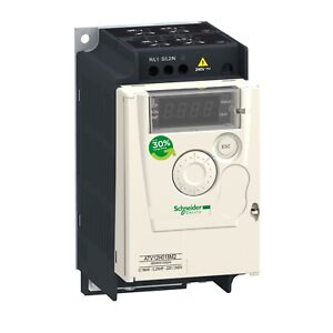 Schneider Elect Variable Speed Drive Atv12h018m2 25hp 18kw 200 230v New