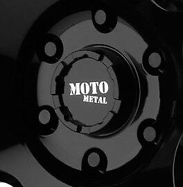 Moto Metal 990 Rotary 5x139 7 Center Cap Gloss Black Fits Dodge Wheels Only