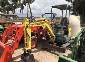 2005 Yanmar Vio15 2 Hydraulic Mini Excavator Only 2500hrs One Owner