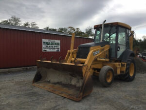 2005 John Deere 310sg 2wd Tractor Loader Backhoe W Cab Ext a hoe Only 3100hrs