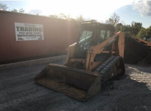 2007 Case 440ct Compact Track Skid Steer Loader W Cab Only 2800hrs