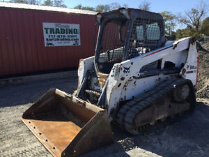 2014 Bobcat T630 Compact Track Skid Steer Loader Only 100o Hours