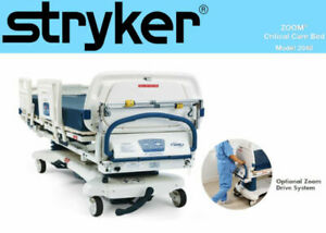 Stryker Critical Care Bed Epic Zoom Drive 2040 Electrical Transport Hospital Bed