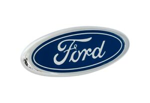 1987 1993 Ford Mustang Lx Front Bumper Correct Blue 3 5 Ford Oval Emblem Badge
