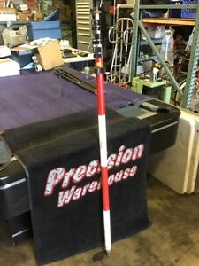 Seco 15 Prism Pole For Surveying Up To 15 6ft Red White