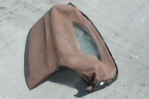 2007 Mazda Miata Nc Mx 5 127 Convertible Soft Top Cloth Roof Tan Assembly