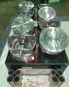 Speed Pro Federal Mogul Pistons Set H423ncp030 Press Fit Only