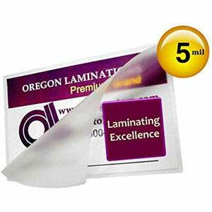 Qty 500 Small Index Card 3 Laminating Sleeves Hot Laminator Pouches Mil Supplies