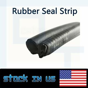 240 Rubber Seal Avoidance Window Door Trunk Edge Weatherstrip Trim Embellish