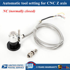 Bnc Automatic Tool Sensor Gauge Z Axis Probe Tool Touch Sensor Setting For Cnc