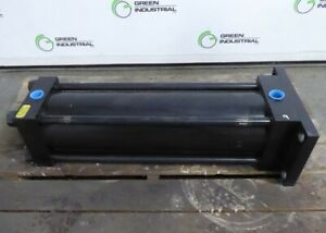 Surplus Yates Cylinders Heavy Duty Hydraulic Cylinder 20 Stroke 6 Bore