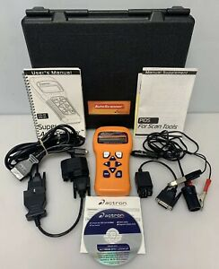 Actron Cp9145 Super Autoscanner Obd11 Scan Tool Kit Cp9150 Ford Gm Chry