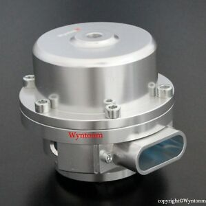 50mm V Band Bov Blow Off Valve Turbo 304 Stainless Steel Weld Flange Silver