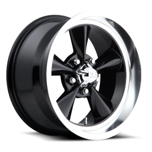 17x8 Et1 Us Mag U107 Standard 5x114 3 Black Rims set Of 4
