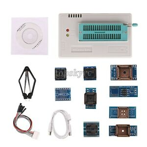 Tl866ii Plus Usb Programmer Bios Programmer With 10 Ic Adatpers High Speed Tpys