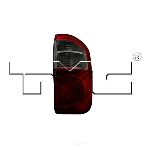 Tail Light Assembly Capa Certified Right Tyc Fits 04 06 Toyota Tundra