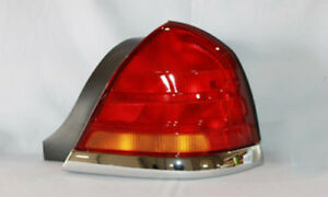 Tail Light Assembly Right Tyc 11 5371 01 Fits 98 05 Ford Crown Victoria