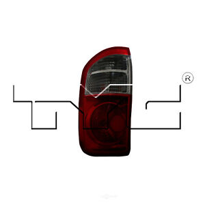 Tail Light Assembly Capa Certified Left Tyc Fits 04 06 Toyota Tundra