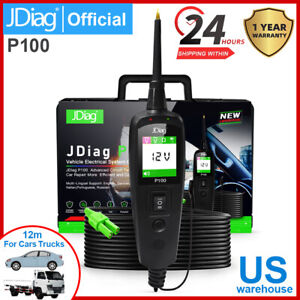 Jdiag Power Pro P100 New Generation Automotive Electrical Circuit System Tester