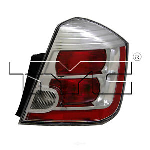 Tail Light Assembly Nsf Certified Right Tyc Fits 10 12 Nissan Sentra