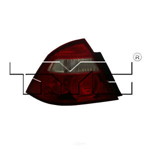 Tail Light Assembly Nsf Certified Right Tyc Fits 05 07 Ford Five Hundred