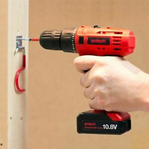 Amtech 10 8v 12v Li ion Cordless Rechargeable Variable Drill Driver
