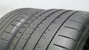 Pair Of 285 30 20 Michelin Pilot Super Sport With 85 Tread 7 5 32 S 6249 99y