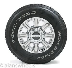 Ford F250 F350 Superduty 18 Chrome Factory Oem Wheels Rims Tires Freeship 10097