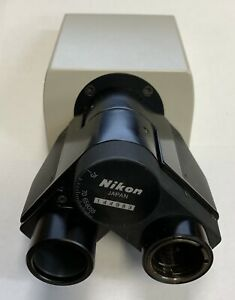 Nikon Labophot Optiphot Pol Microscope Binocular Head Bertrand Lens Petrographic