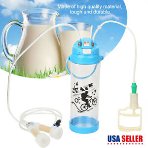 Milk Machine Goat Sheep Milking Kit Manual Milker 3l 0 8 Gallon Bottle