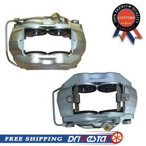 Drivestar Completely Front Set Disc Brake Caliper For Ford Lincoln Mercury Top