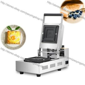 Commercial Nonstick Electric Toastie Sandwich Maker Toaster Press Grill Machine