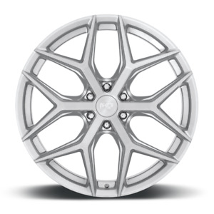 24x10 Et30 Niche M233 Vice Suv 6x135 Brushed Silver Rims set Of 4