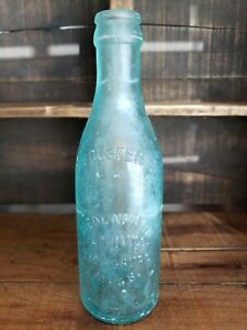 Early 1900's Biedenharn Candy Co Crown Top Bottle Vicksburg Miss Mississippi MS